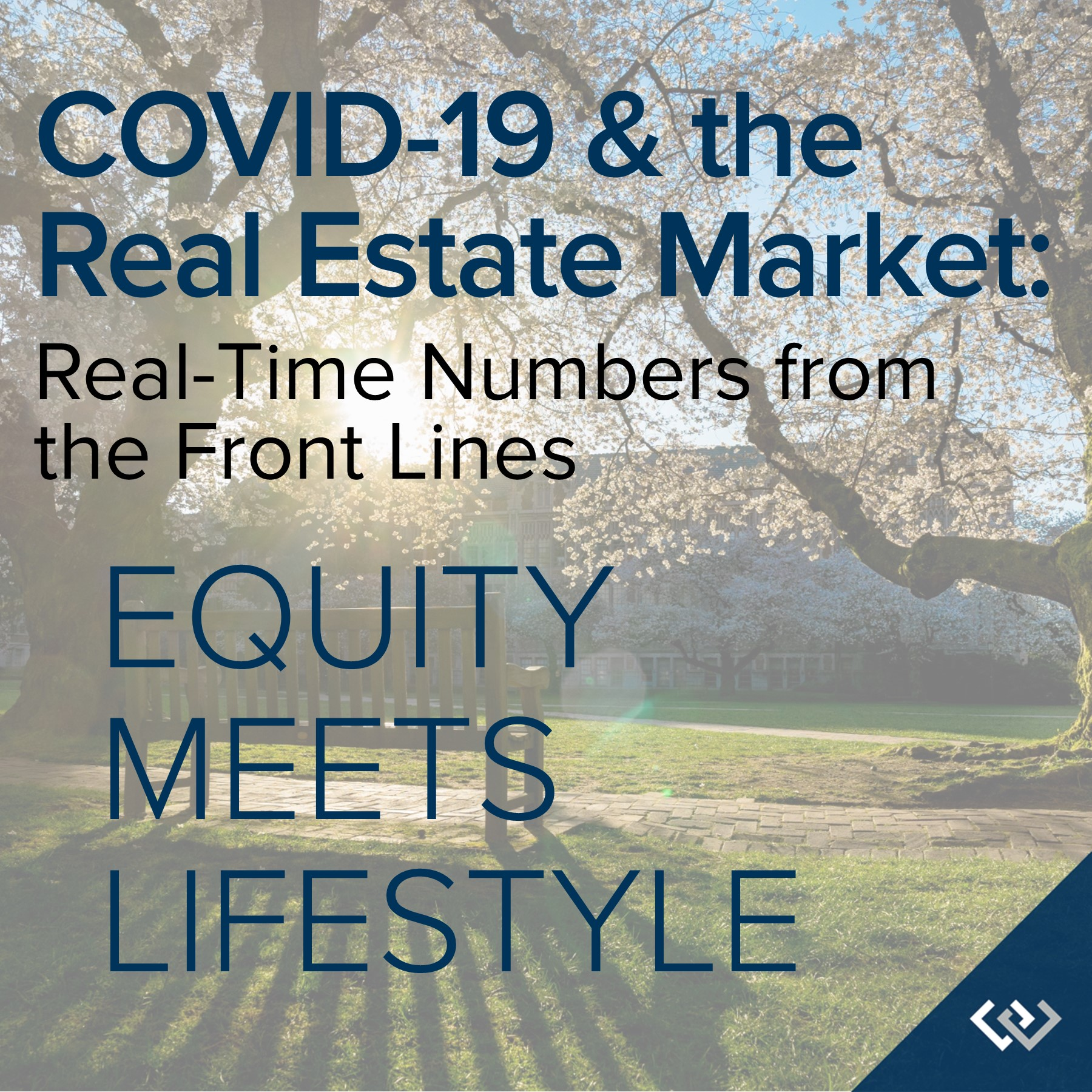 COVID-19 & the Real Estate Market - Equity meets lifestyle